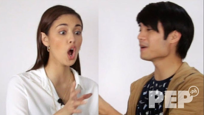 Watch Megan Young's reaction to what Mikael Daez has in his hand
