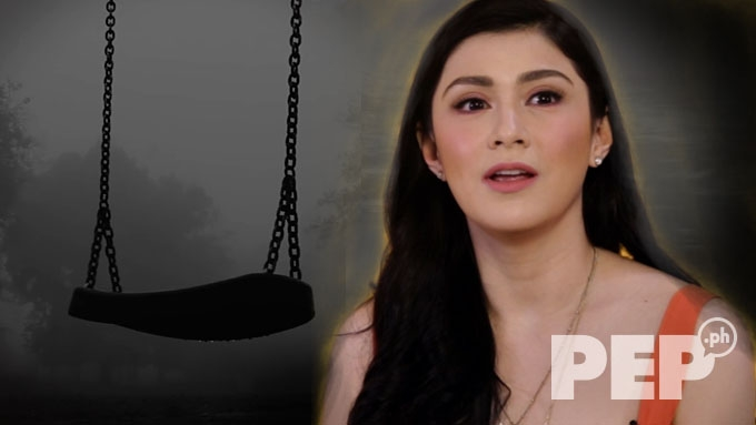 "Carla Abellana and the ""squeaking swing"""