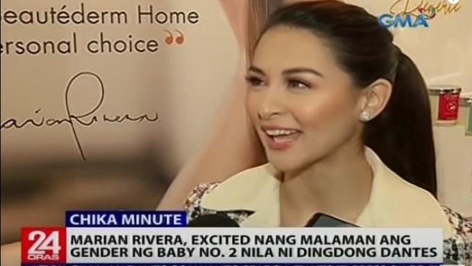 Marian Rivera excited to know gender of baby number two