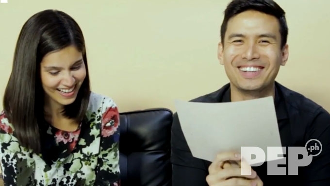 Christian Bautista can't contain his kilig when Kat Ramnani said this...