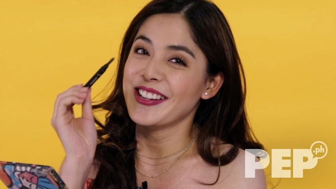 Shaira Diaz shows how to fill in brows like a pro