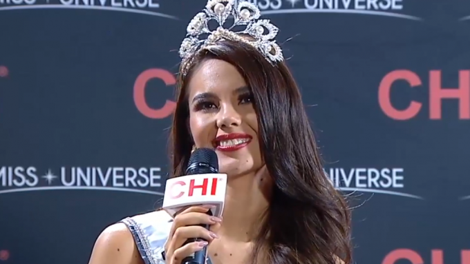 Watch Catriona Gray's very first interview as Miss Universe