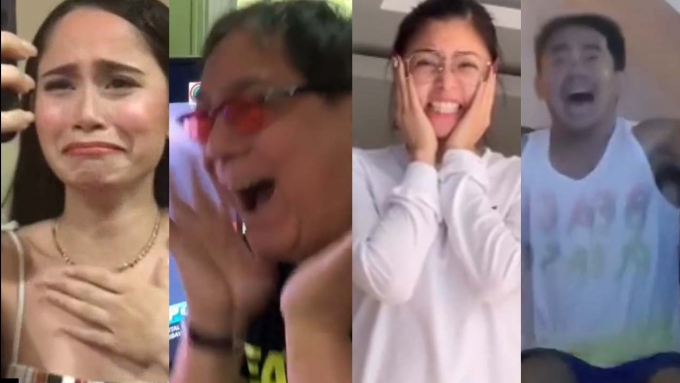 WATCH: Celeb reactions to Catriona Gray's Miss Universe 2018 win