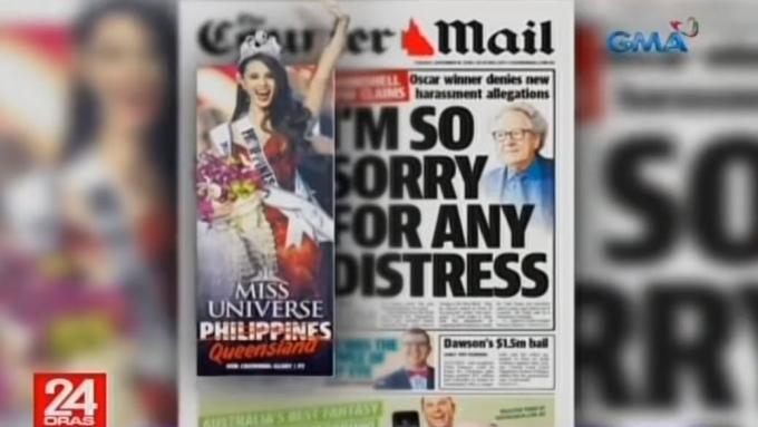 Miss Universe 2018 Catriona Gray, kinilala rin sa Australia