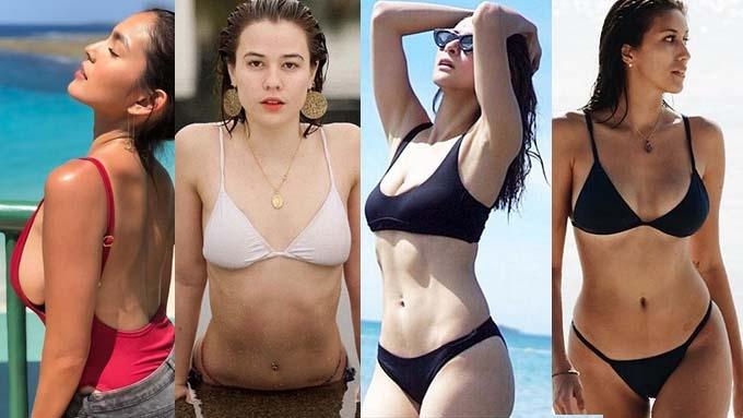 Mga female celebrity na nagpakita ng kaseksihan nitong 2018