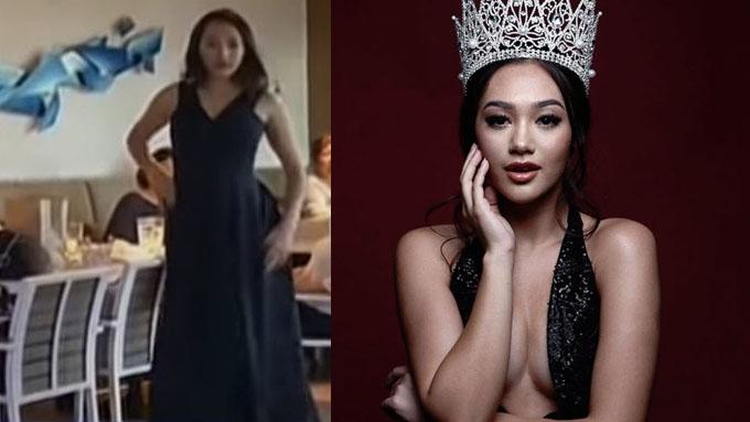 Miss Multinational Philippines Kimi Mugford, ibinida ang kanyang Landslide Walk