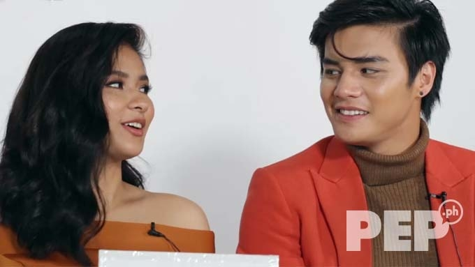Watch Loisa Andalio's kilig line to Ronnie Alonte