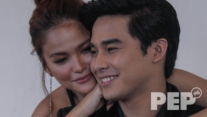 Elisse Joson and McCoy de Leon can't hide sweetness for each other in this shoot