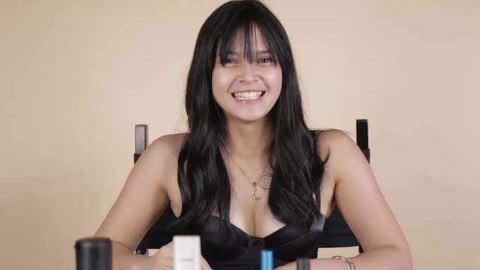 Bianca Umali tried putting on makeup without a mirror and this is what happened