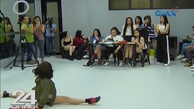 Mga nag-audition para sa Sexbomb New Generation, nagpasiklaban