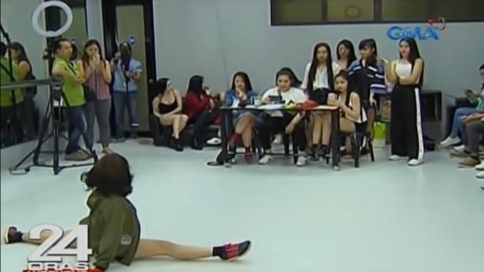 Mga nag-audition para sa Sexbomb New Gen, nagpasiklaban