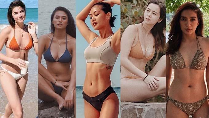 Ilang Kapuso stars, #bodygoals sa kani-kanilang beach photos