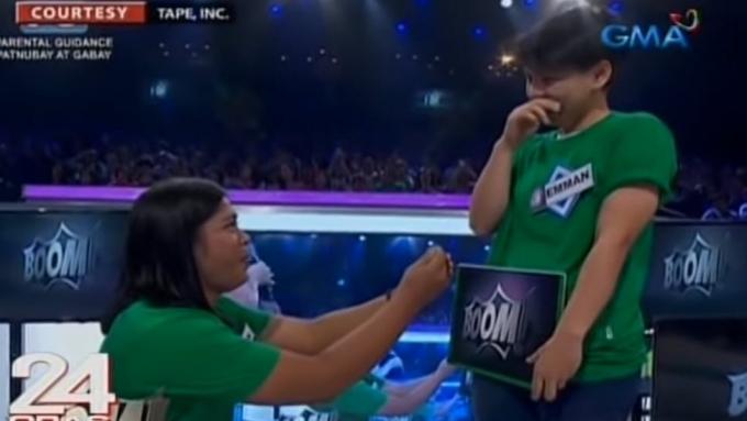 Gay contestant, nag-propose ng kasal sa Eat Bulaga