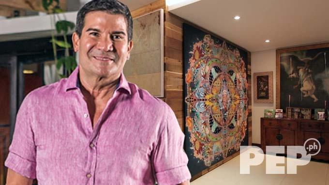 Edu Manzano's house has stunning art pieces