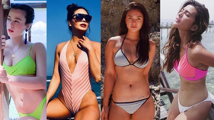 Klea Pineda, Maxine Medina, at iba pa, may patikim ng tag-init na sexy photos