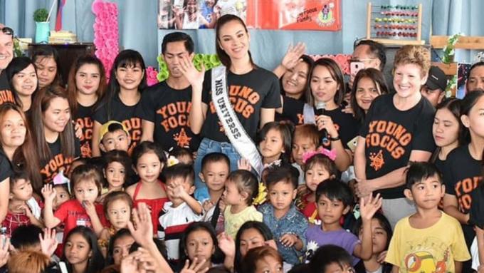 Catriona Gray, handang makipag-usap sa Malacanang
