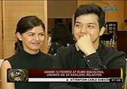 Janine Gutierrez and Elmo Magalona finally admit their relationship