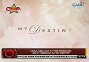 "Carla Abellana and Tom Rodriguez team up anew in ""My Destiny&qu"