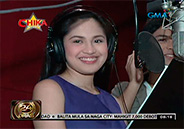 Julie Anne San Jose and Kristoffer Martin sing theme song of Kahit Nas