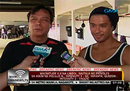 Rocco Nacino bonds with dad through boxing