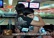 Alden Richards bonds with his dad through bowling