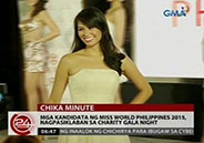 Miss World Philippines 2015 contestants show off in their cocktail dre