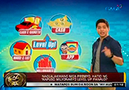 Prizes at stake on Kapuso Milyonaryo Level Up Panalo