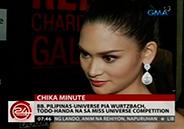 Bb. Pilipinas-Universe Pia Wurtzbach ready for Miss Universe competiti