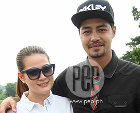Zanjoe Marudo and Bea Alonzo find golf a very challenging sport