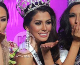 Bb. Pilipinas-Universe 2014 MJ Lastimosa is confident in taking home t