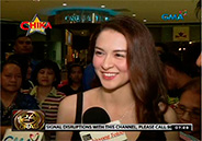 "Marian Rivera surprised by fans at special screening of ""My Lady"