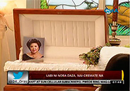 Nora Daza's body cremated