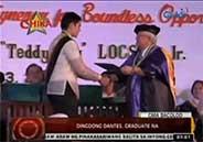 Dingdong Dantes now a college graduate