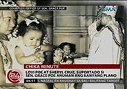 Lovi Poe and Sheryl Cruz ready to support Sen. Grace Poe