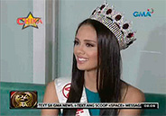 Megan Young flies to Indonesia for Miss World pageant