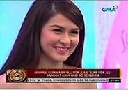Marian Rivera enjoys hosting stint in Eat Bulaga!