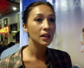 Solenn on being named by Derek as the girl who really broke his heart