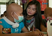 Bea Binene celebrates 17th birthday with cancer kids