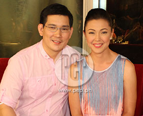 Jodi Sta. Maria and Richard Yap are very thankful for the support
