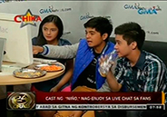 Lead cast of <em>Ni&ntilde;o</em> enjoys live chat wit
