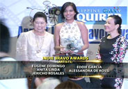 Eugene Domingo and Alessandra de Rossi win at Indie Bravo awards