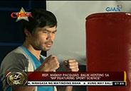 "Manny Pacquiao to Mommy Dionisia: ""matakot tayo sa Panginoon."