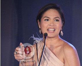 The PEP List awards: Judy Ann Santos