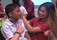 Jessica Sanchez gives out hearing aid in General Santos City