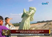 Nora Aunor Elsa statue attracts tourists in Ilocos Norte