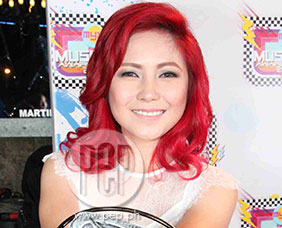 Yeng Constantino feels very grateful about winning Favorite Female Art