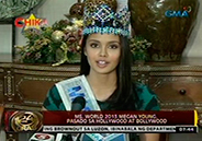 Miss World 2013 Megan Young passes Hollywood and Bollywood screen test