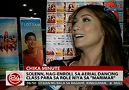 Solenn Heussaff takes aerial dancing classes for her MariMar role