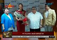Iya Villania back to being Kapuso