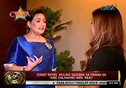 Coney Reyes goes back to drama in Ang Dalawang Mrs. Real